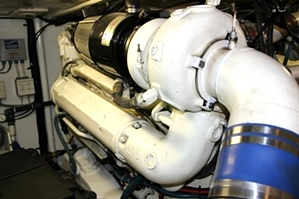 53' Tollycraft Engine Room | Pilothouse Motor Yacht  PHMY For Sale