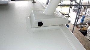 53 Tollycraft Radar and Solar on Pilot House Motor Yacht  PHMY